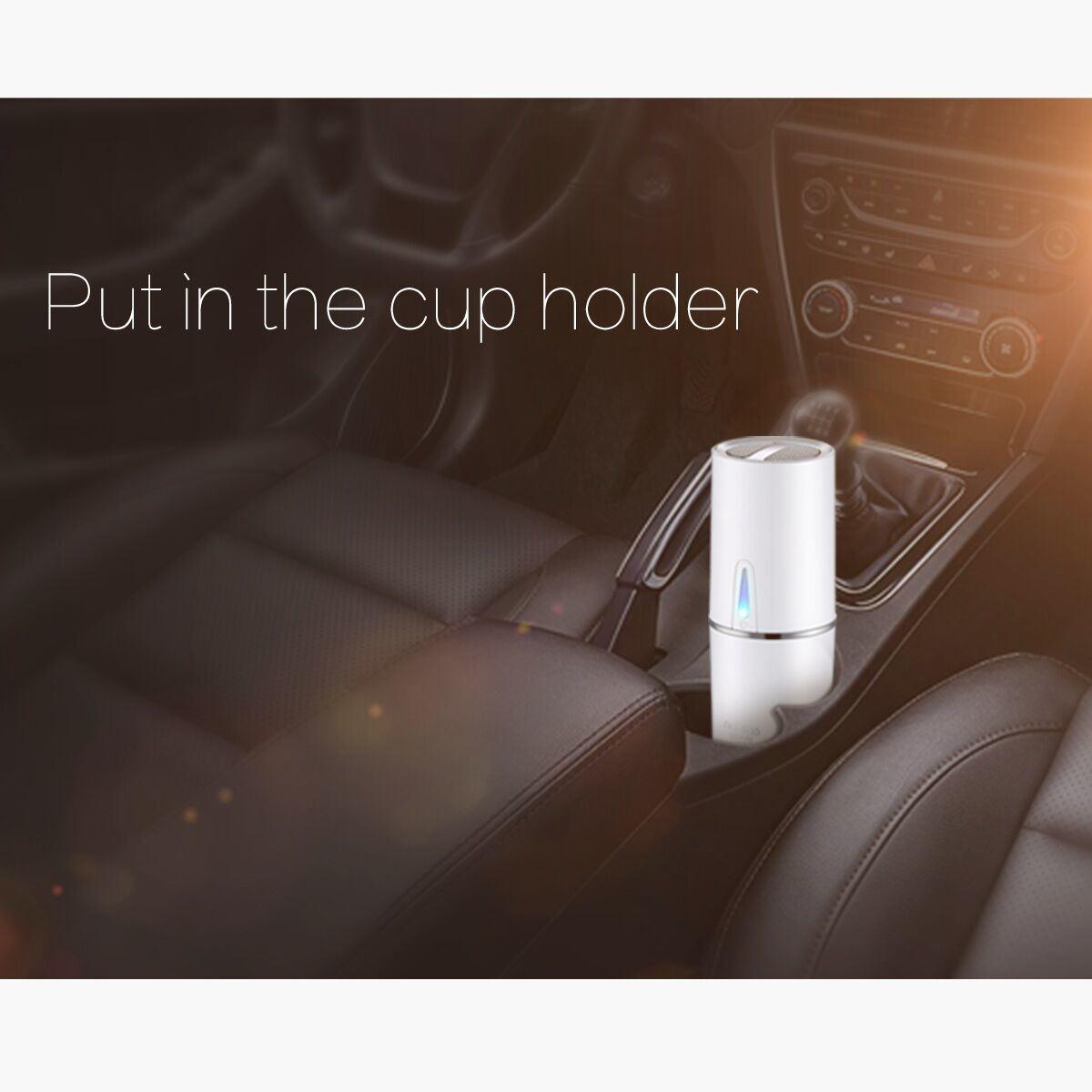 Cup Shaped Air Purifier/Car Air Purifier Ionizer 12V