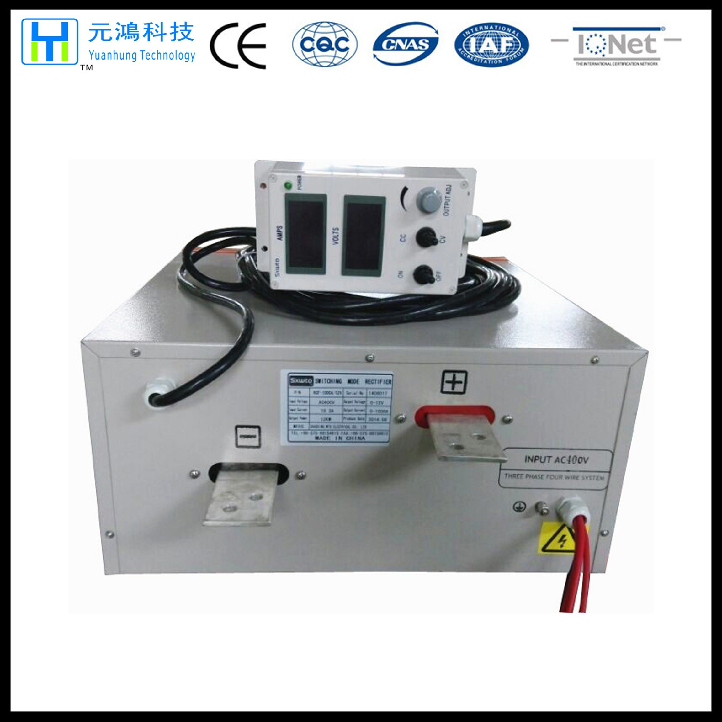 1000A 415V 3phase Rectifier for Electroplating