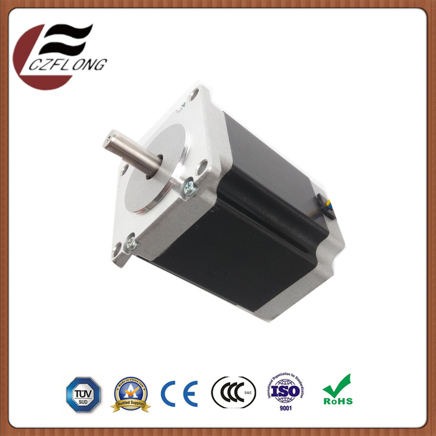 Highly Integrated 57*57mm NEMA23 1.8-Deg Stepper Motor for Automation Equipment