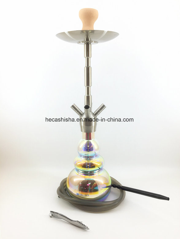 Fashion Wholesale Stainless Steel Nargile Smoking Pipe Shisha Hookah
