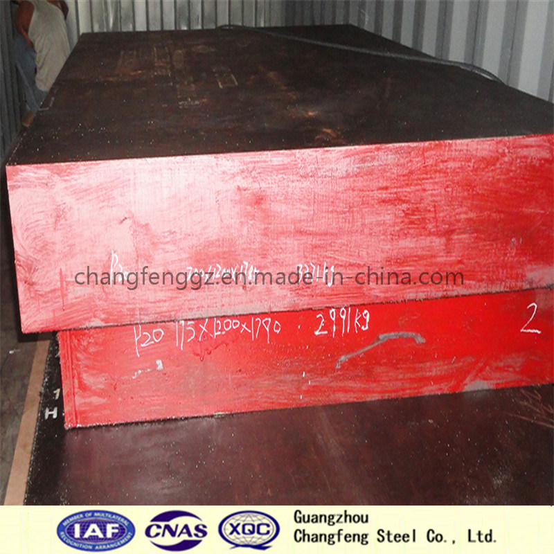 Mould Steel Block Alloy Steel Plate with Excellent Machinability (1.2312/P20+S)