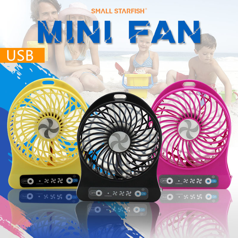 DC 5V USB Mini Fan for Cool Wind