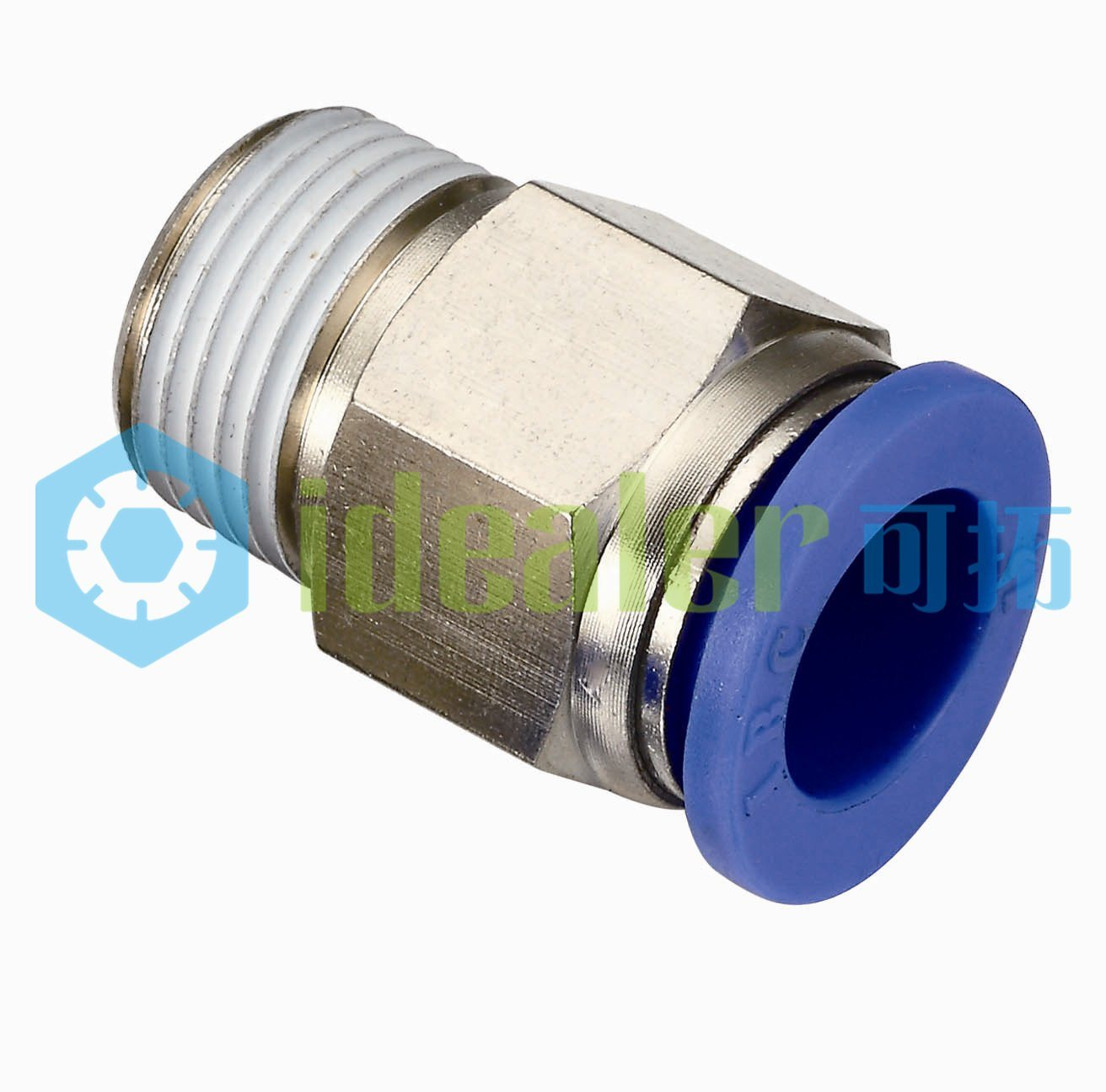 High Quality One Touch Brass Fitting with CE (PZA04)