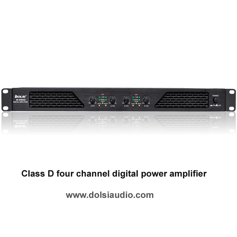 DJ Sound Class D PRO Audio Digital Professional Power Amplifier