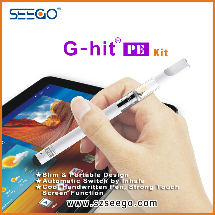 Stylus Design G-Hit PE Tank Pen Kit for Cbd E-Liquid with Touchscreen Devices