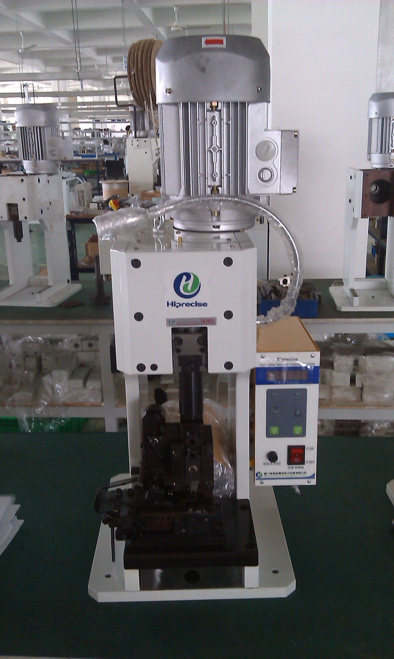 Hose Crimper Machine, Semi-Automatic Wire Terminal Crimping Machine