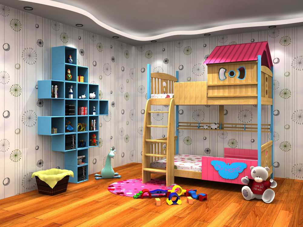 Children Loft Bed Children′s Furniture