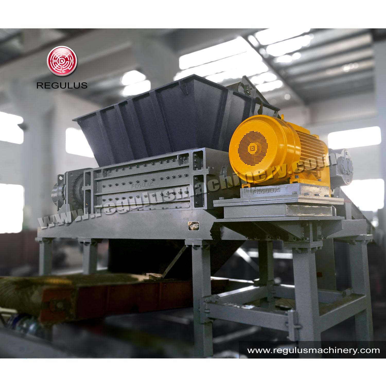 Plastic Double Shaft Shredder Machine