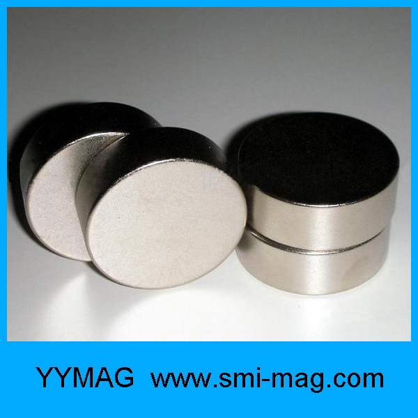 Strong Magnets Nickel Round Disc Rare Earth Neodymium Magnet