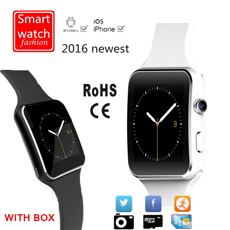 Bluetooth Smart Watch with Camera Support SIM Card
