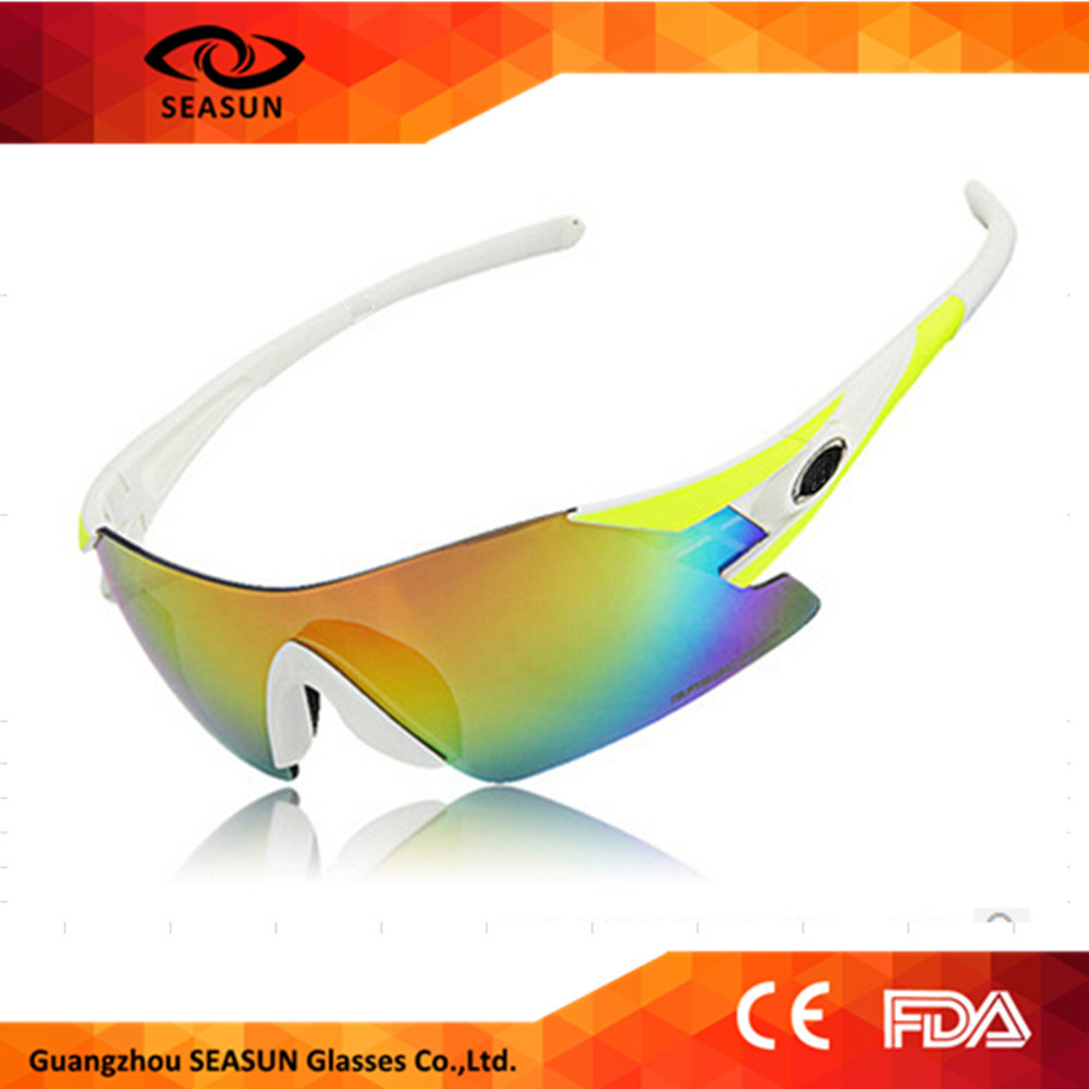 2016 Miltifunctional Mens Sunglasses Cycling Sport Outdoor Sun Glasses