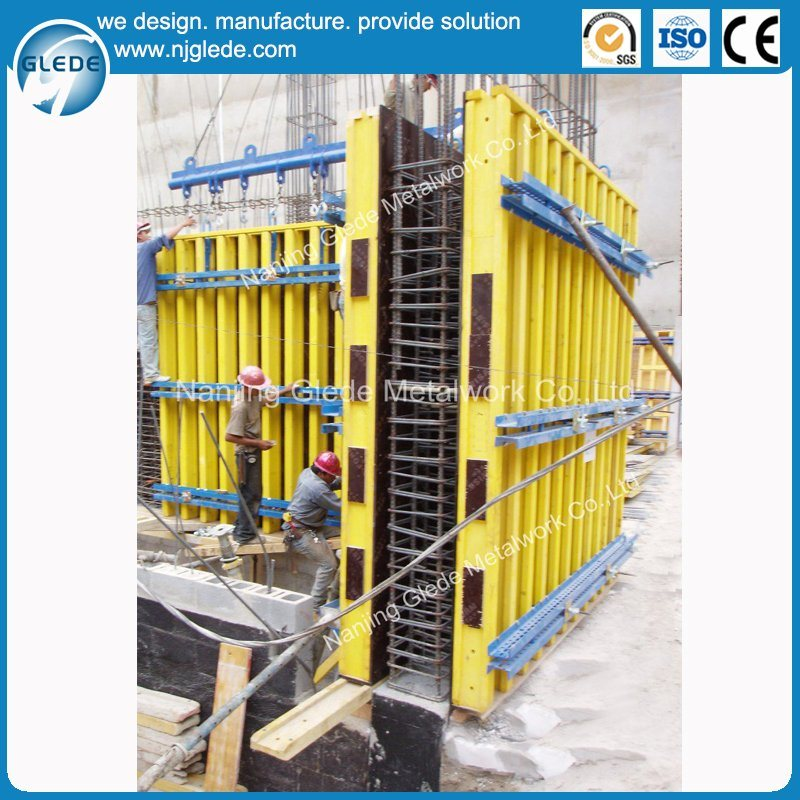 Building Wall Steel Formwork for Concrete Column with High Quality