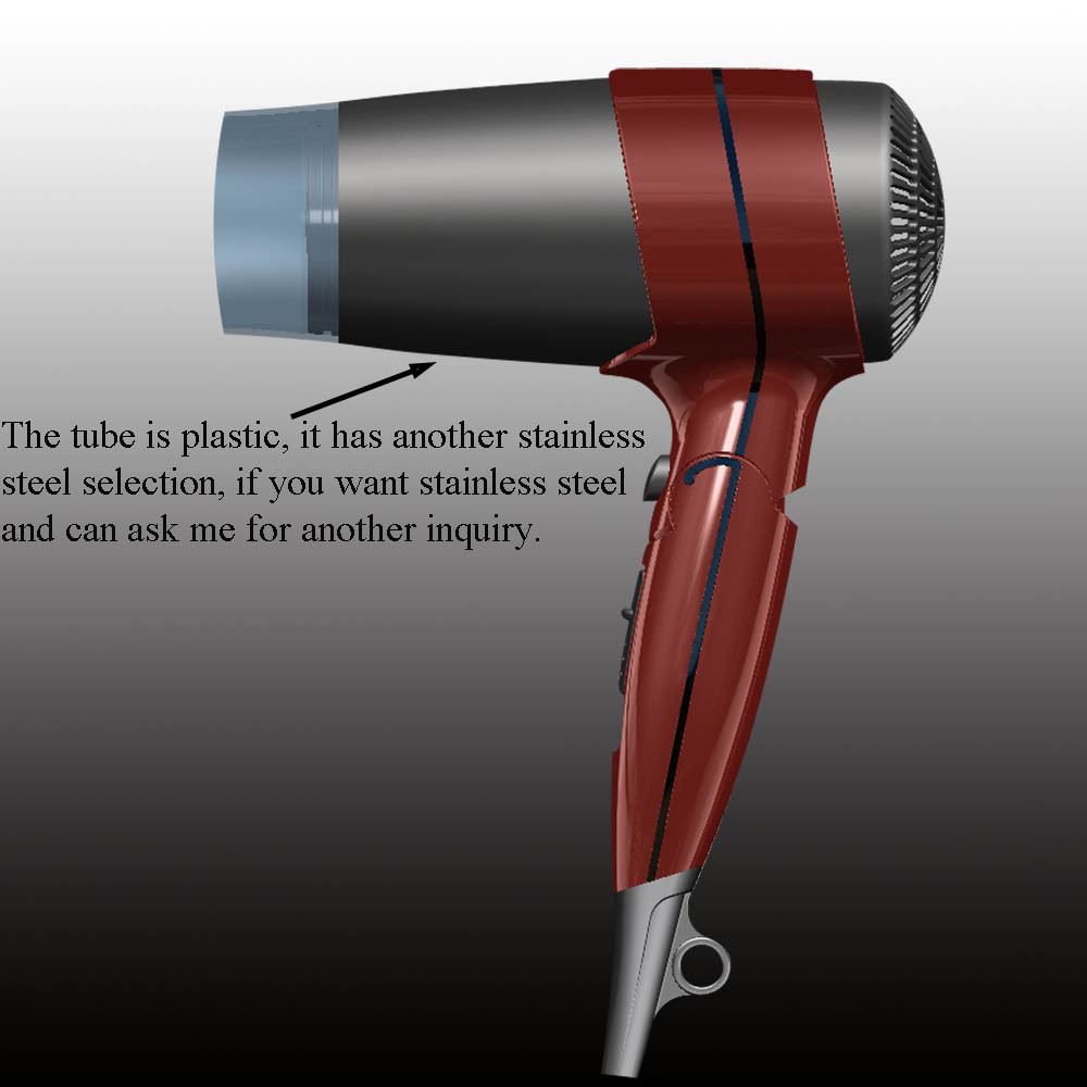 Professional Foldable Hair Dryer Household Travel Hotel Use