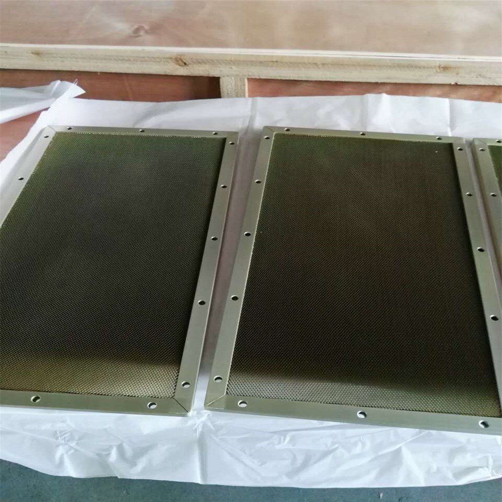 Steel Honeycomb Ventilation Panels for Air Filteringsteel Honeycomb Ventilation Panels (HR337)