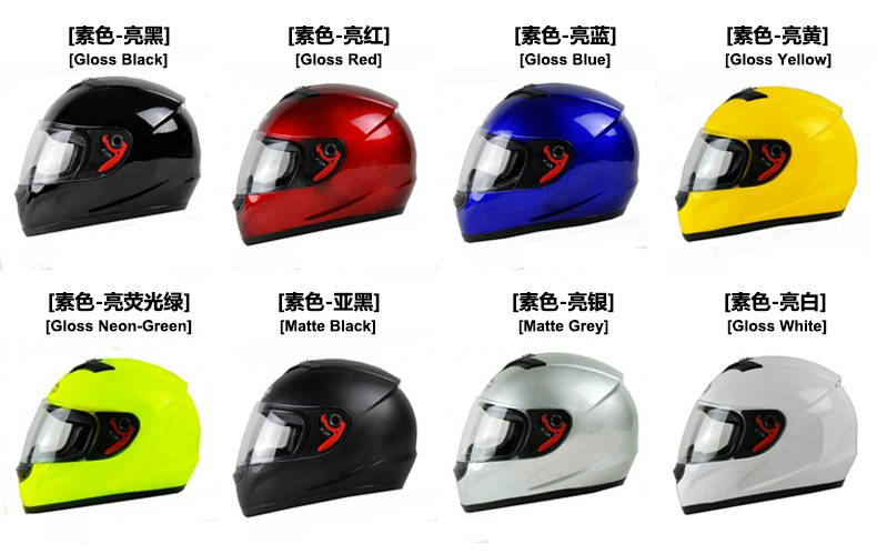 Professional Full Face Scooter/Motorbike/Motorcycle Helmet (0700B)