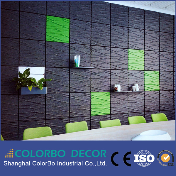 Interior 3D Wall Panel, Polyester Fiber Acoustic Panels