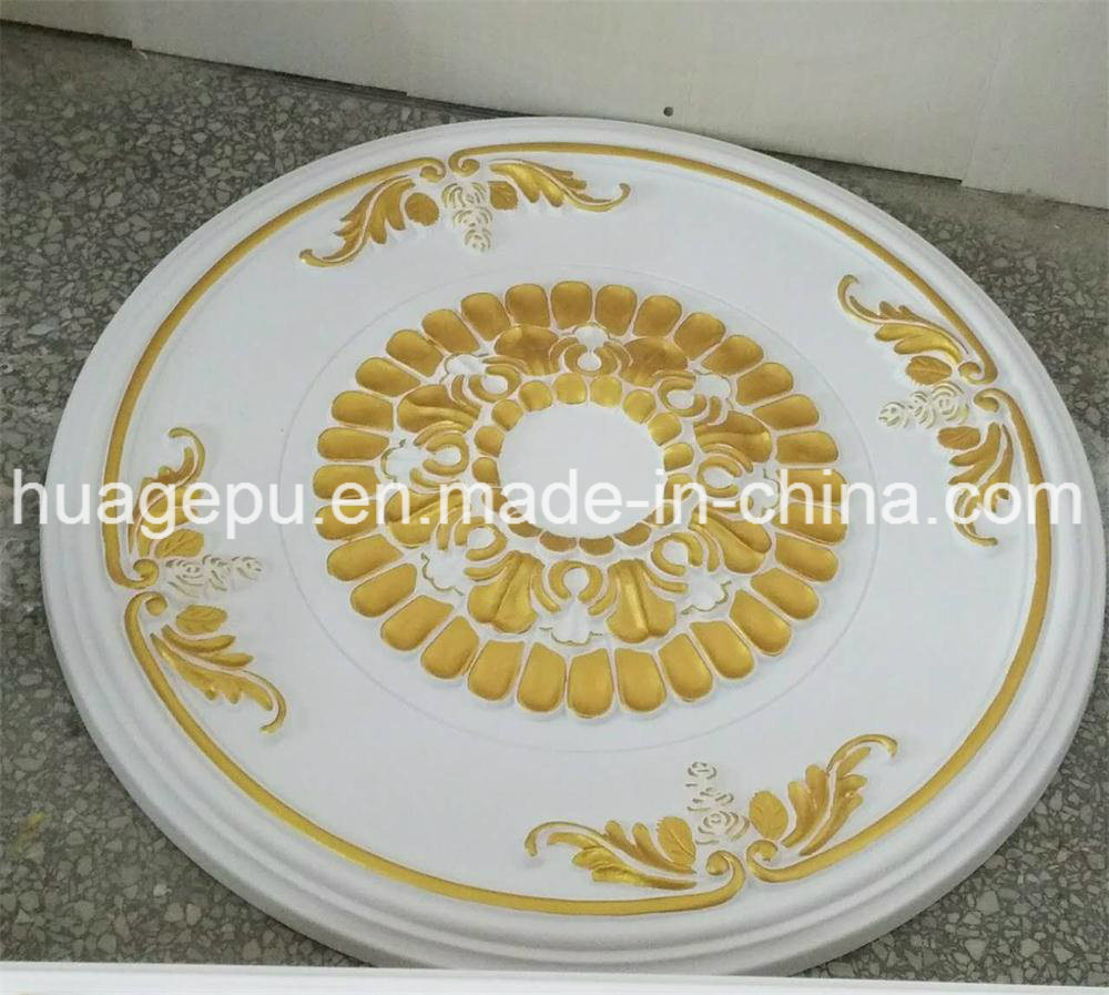 Factory Wholesale PU Foam Ceiling Medallion Mouldings for Interior Decoration