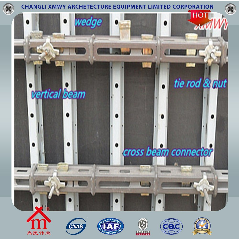 Wall Steel Column Formwork for Concrete