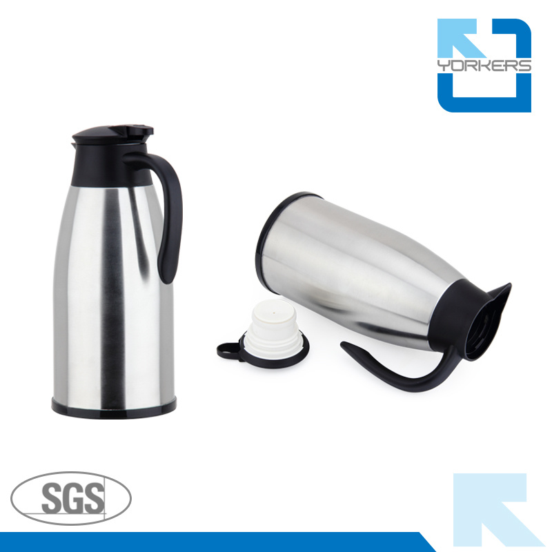 2017 New Design 304 18/8 Stainless Steel Vacuum Coffee Kettle Coffee Pot