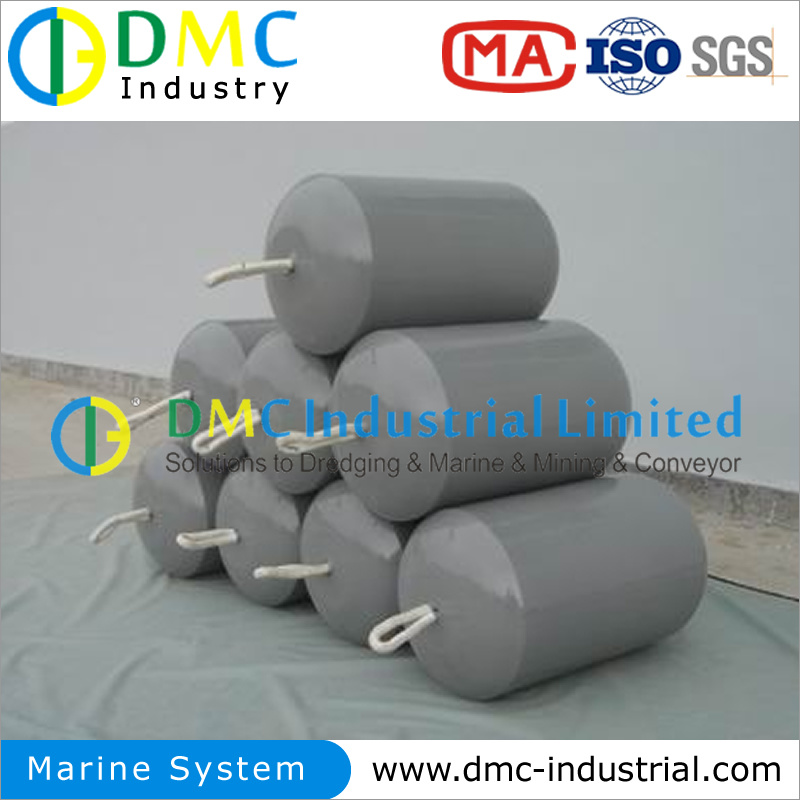 Foam Filled Marine Fenders for Dredging Project