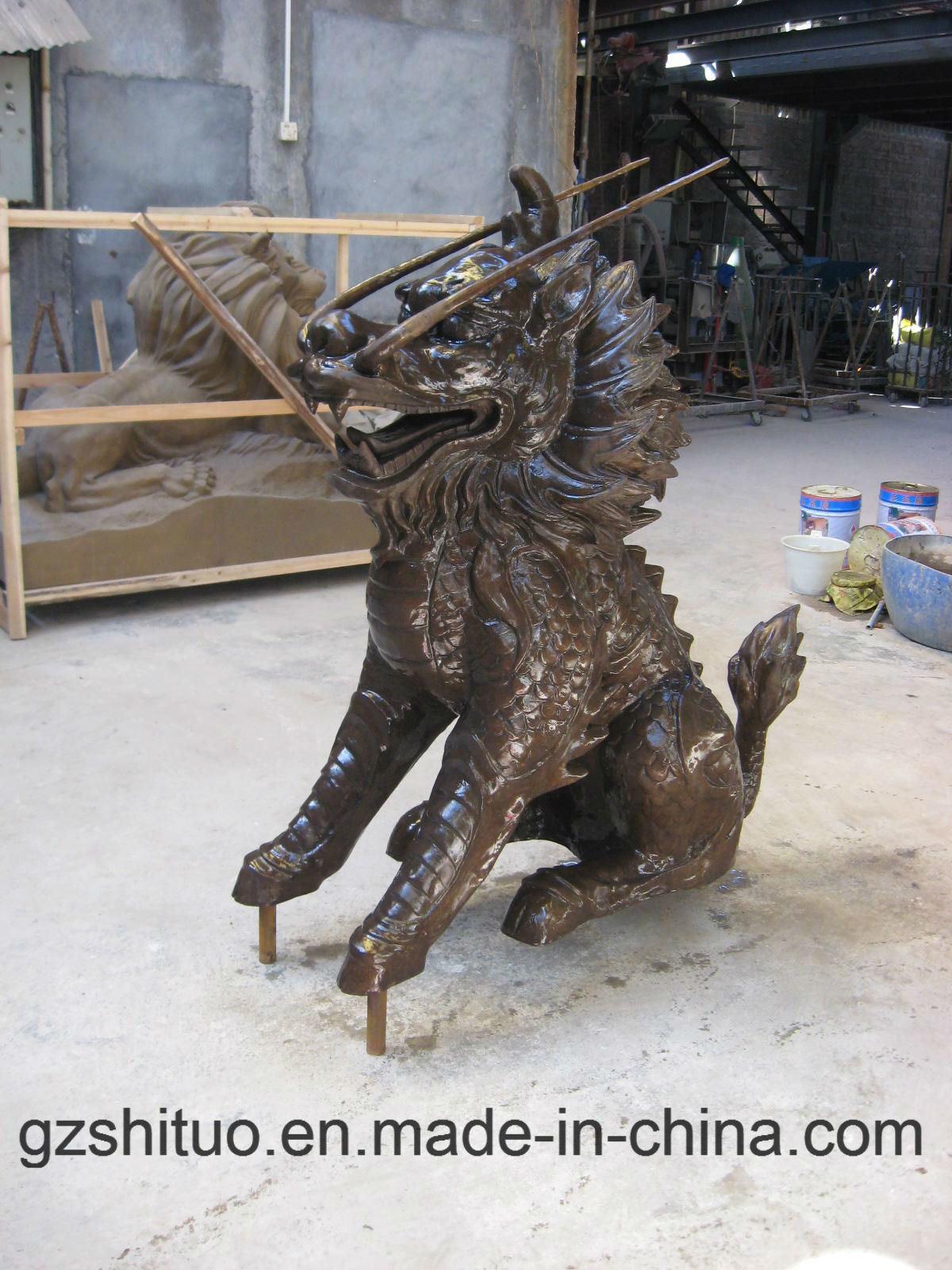 Copper Products Outdoor Garden Sculpture, Water Features Sculpture, Indoor Sculpture