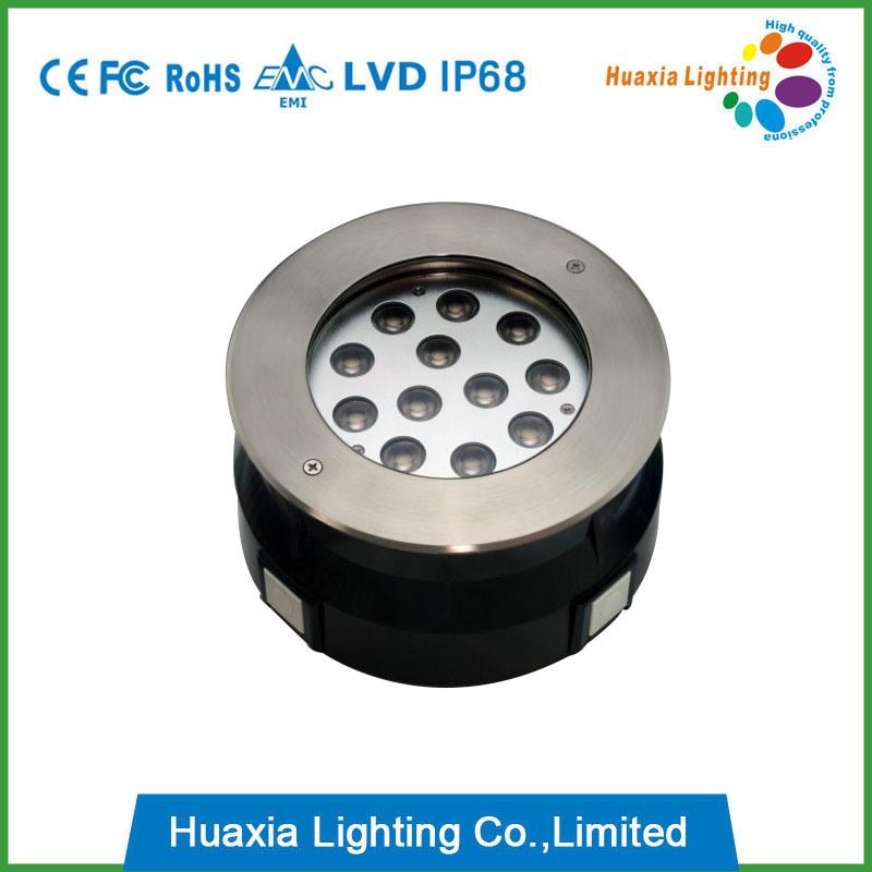12W IP67/IP68 LED Inground Light, LED Underground Light