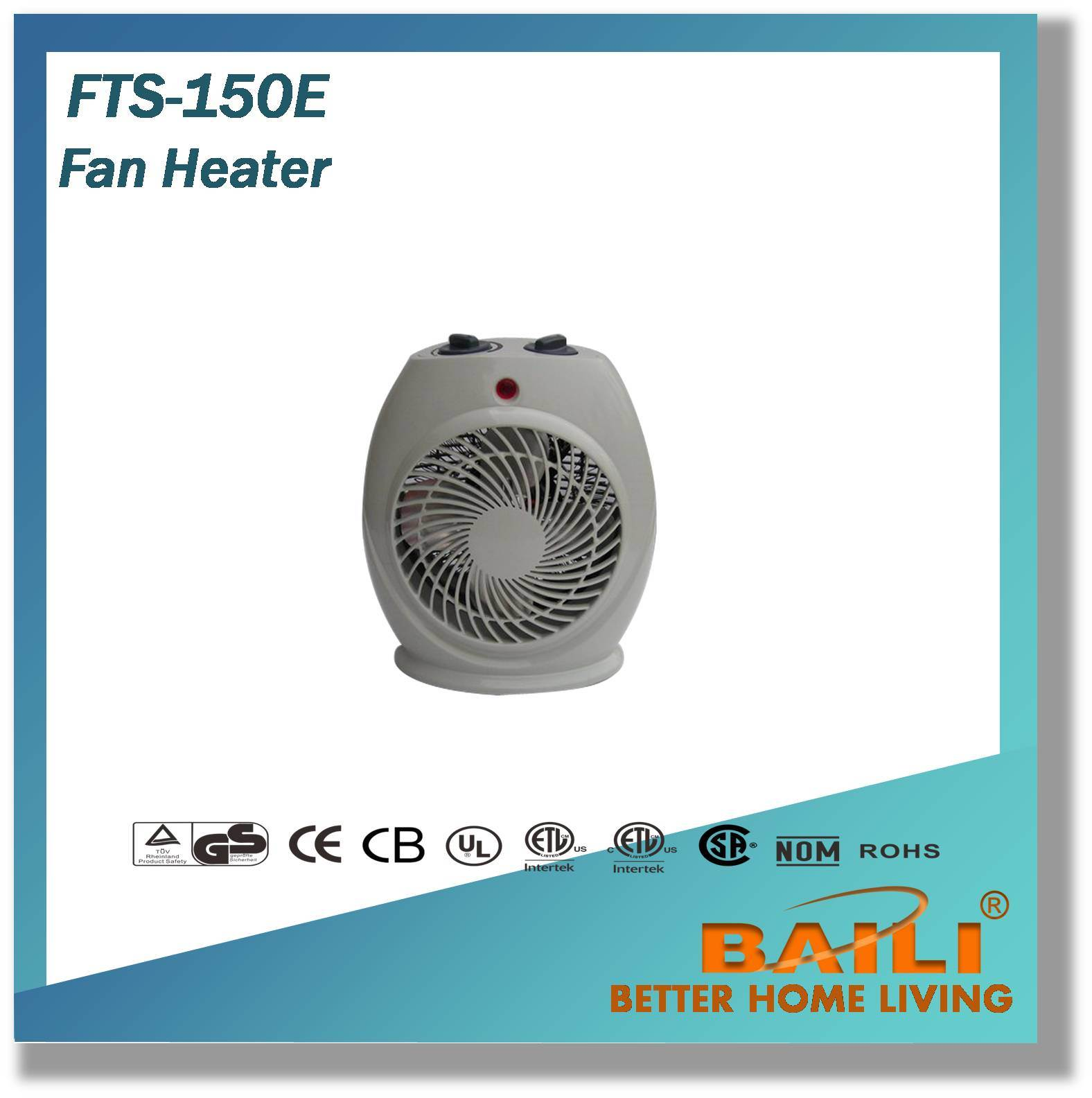 High Efficiency Fan Heater