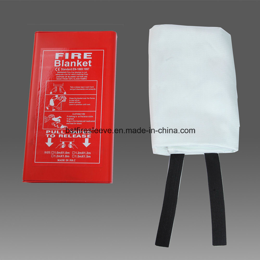 En1869 Approved Kitchen Family Industrial Fiberglass Safety Fire Blanket