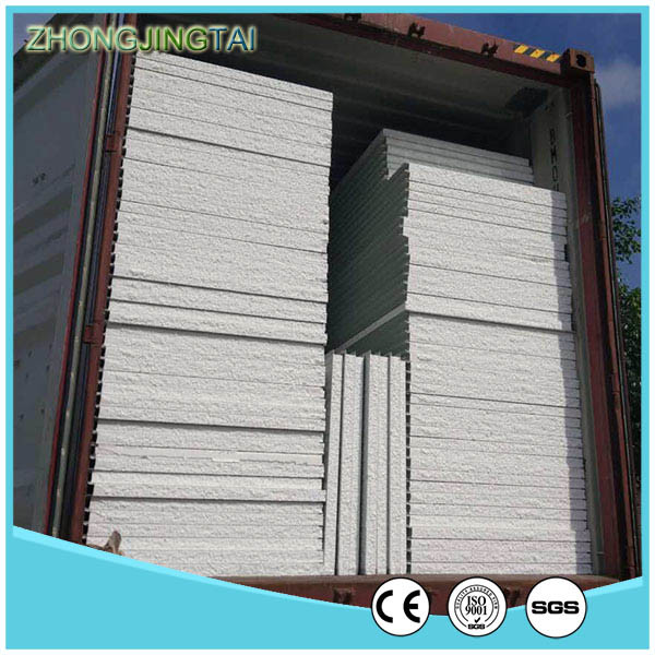 Zjt High Quality Color Steel Glass Wool Sandwich Panel