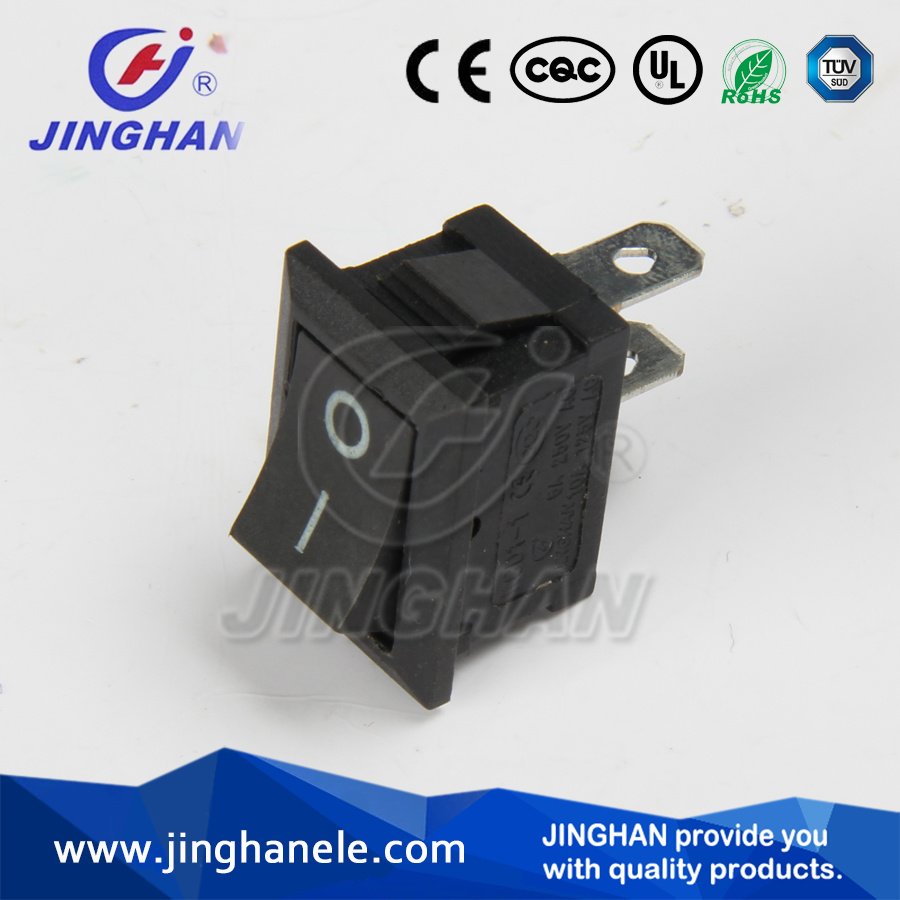 Jinghan Kcd1-116A Spst Rocker Switch/Electric Switch 2 Pins