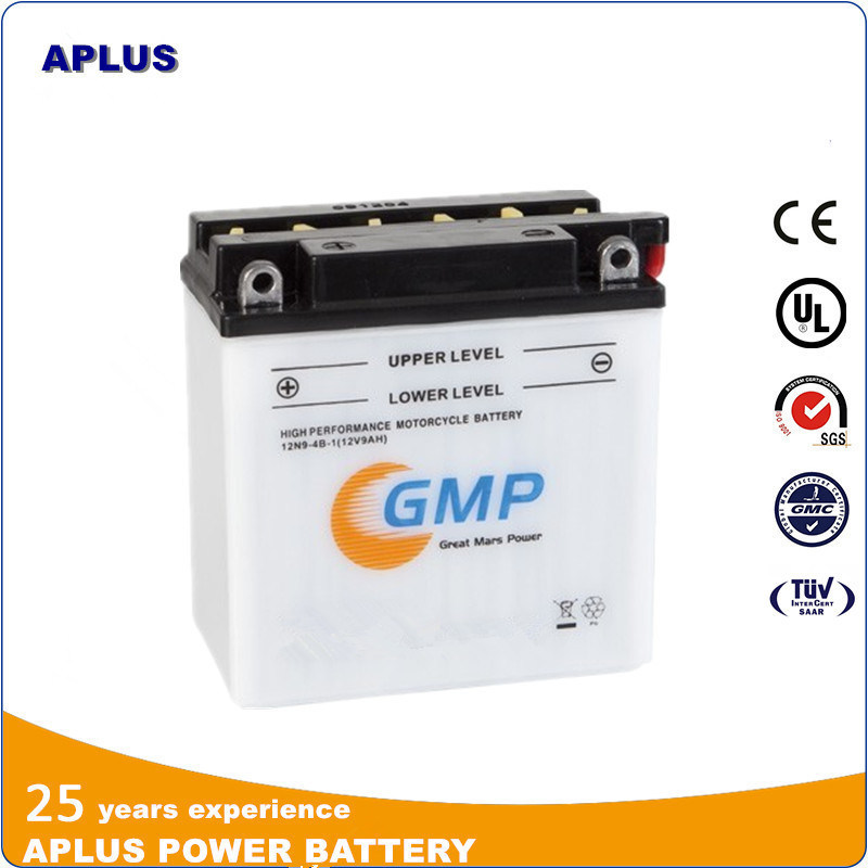Wholesale 12V 9ah Dry Charge Energy Storage Battery for Motorcycle