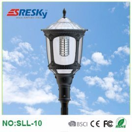 Modern Style Wireless LED Solar Garden Lighting