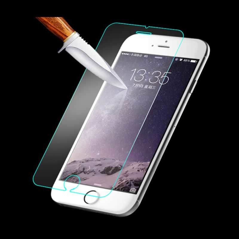 2.5D 9h Tempered Glass Screen Protectors for iPhone 6 / 6s Plus 0.18mm