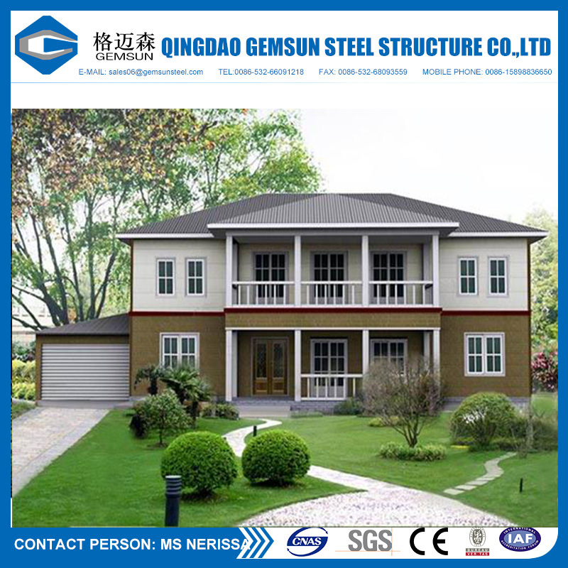 Modern Architectural Design Prefab Light Steel Framing Villa