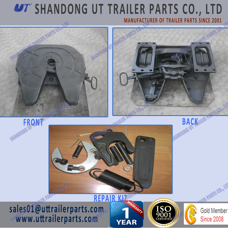 Holland Type Casting Fifth Wheel/5th Wheel 50mm 90mm for Semi Trailer and Truck