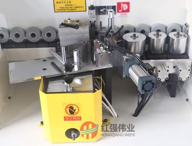 with Touch Screen Edge Banding Trimming Machine