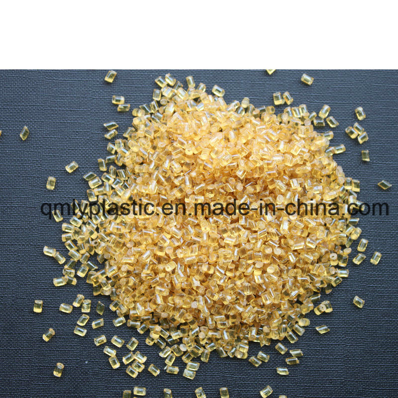 Pei Thermoplastic Resin Udel Engineering Plastic Material Amber/Black Color