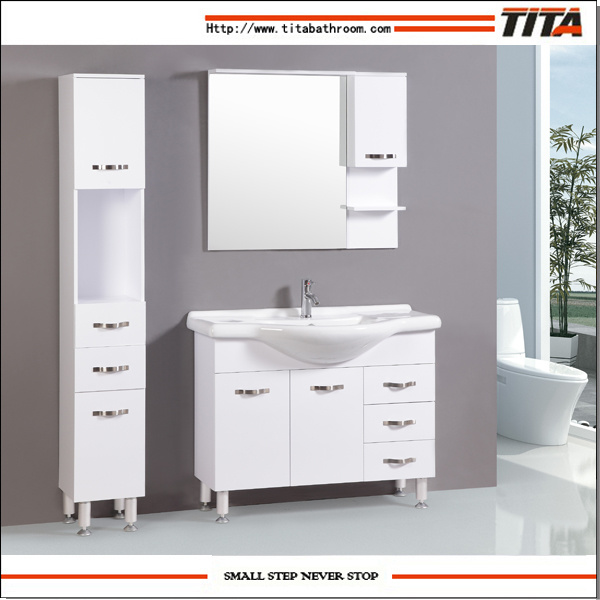 china high gloss white mdf bathroom furniture tm8012 photos