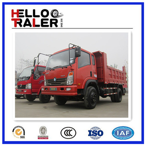 Sinotruk 4X2 130HP Small Tipper for Sale