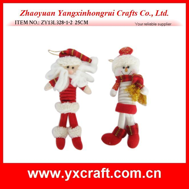 Christmas Decoration (ZY13L328-1-2 25CM) Christmas Winter Holiday Special Gift