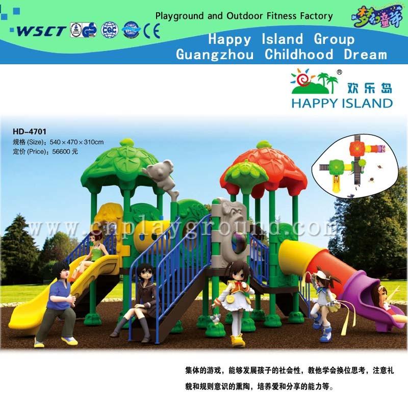 Hot Selling Children Indoor Playground Equipment Small Amusement Games Set (HD-4402)