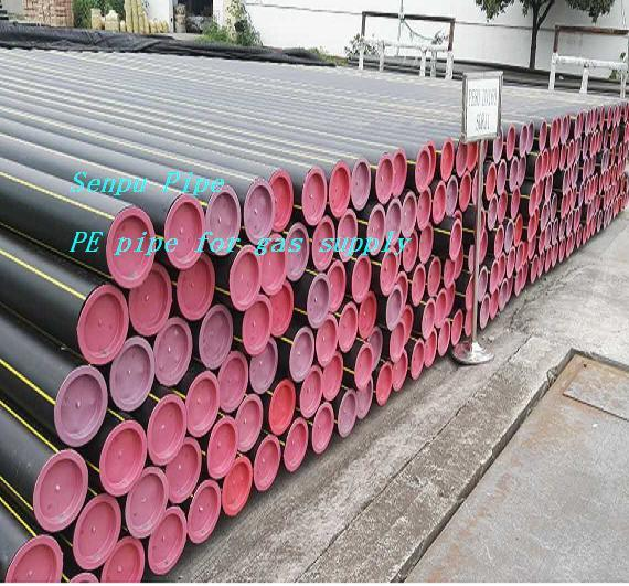 HDPE Pipe Dn20-Dn630 for Gas Supply