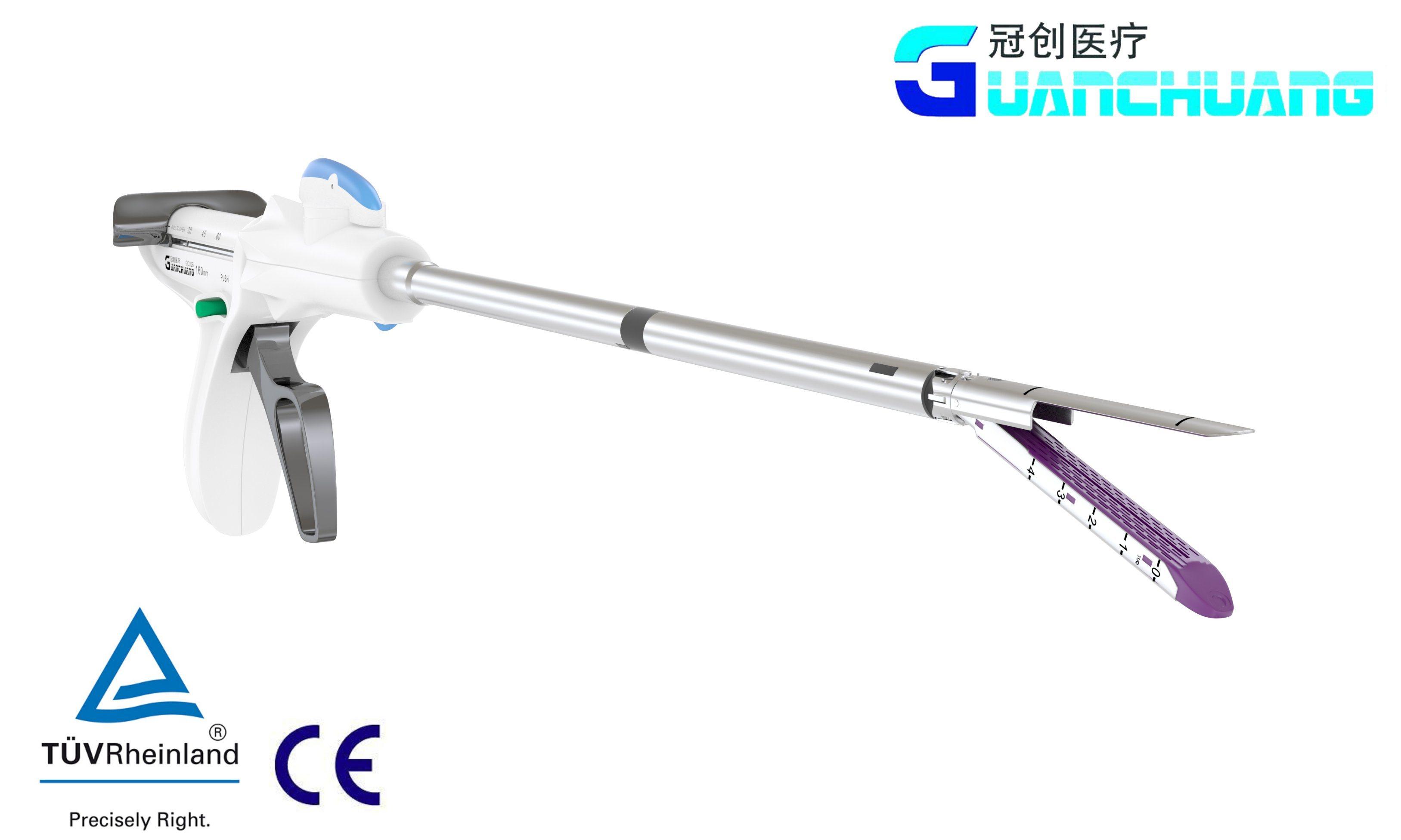 Disposable Endoscopic Cutter Stapler (Bent Nails)