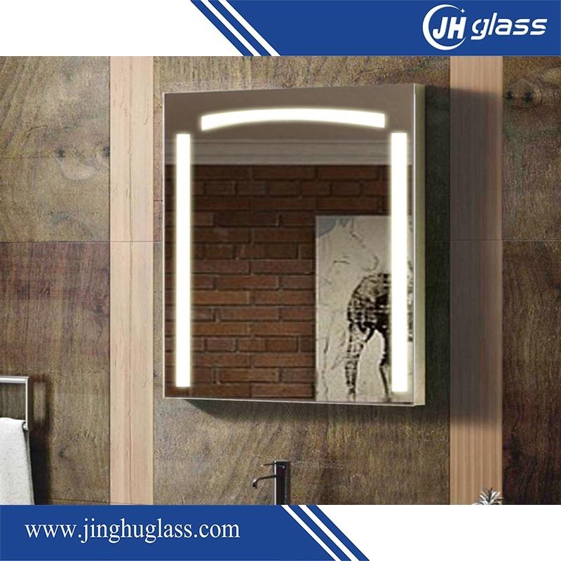 5mm Wall Mounted Hotel Bathroom LED Mirror