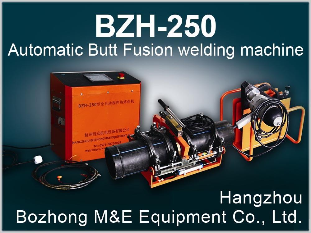 Automatic Butt Fusion Welding Machine (BZH-250)