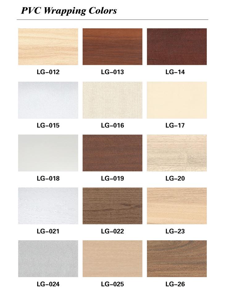 Waterproof No Formaldehyde WPC Closet Cabinet Door Panel (PB-185-1)