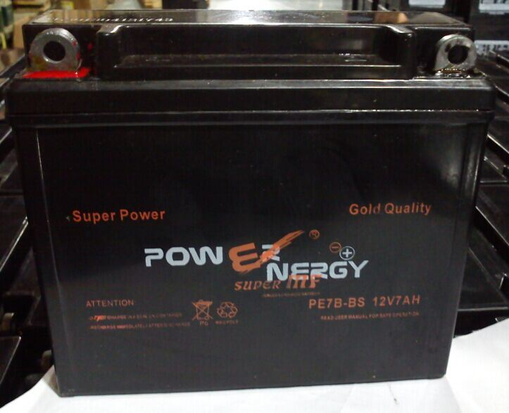 12V7.0ah Sealed Maintenance Free Lead Acid Factory Activated Motorcycle Battery