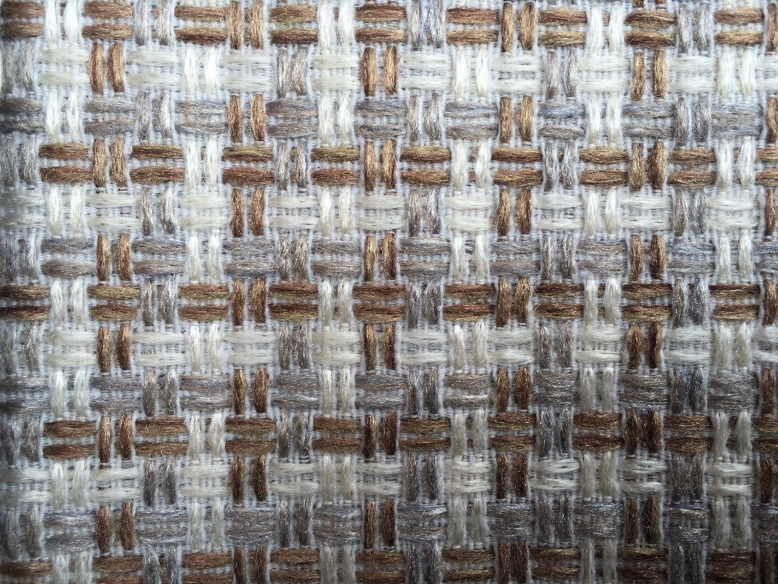 Hot Selling 1.6USD/M Polyester Fabric Grid Design Sofa Fabric (S001)