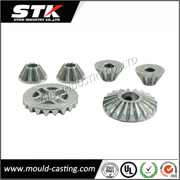 Aluminum Alloy Die Casting Mechanical Bevel Gear / Wheel Gear (STK-ADI0028)