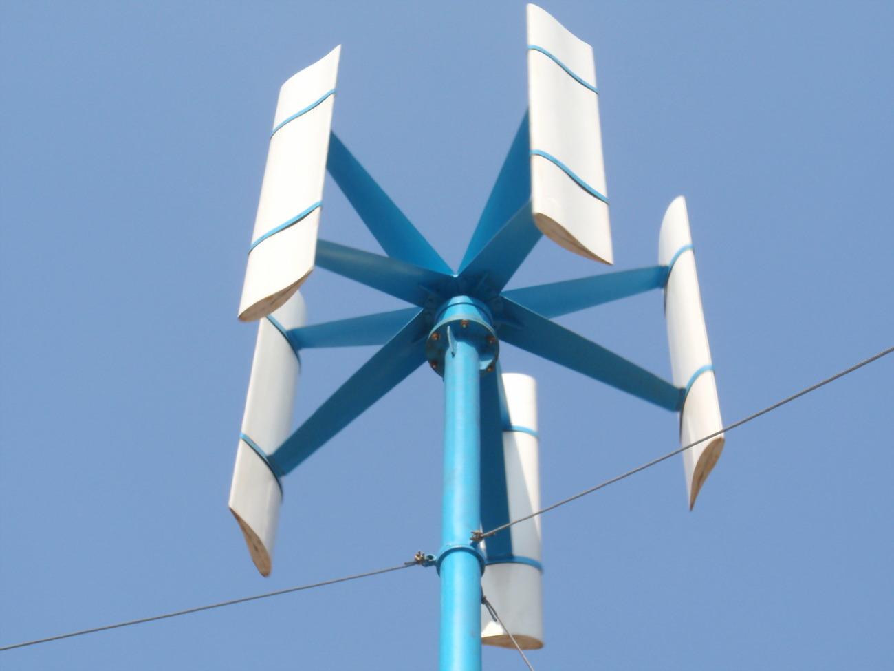 Изготовление вертикального ветрогенератора своими руками